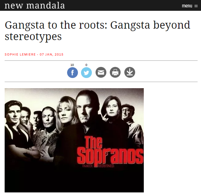 Gangsta to the Roots - Gangsta Beyond Stereotypes