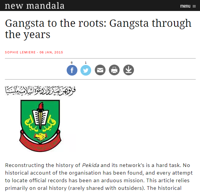 Gangsta to the Roots - Gangsta through the Years