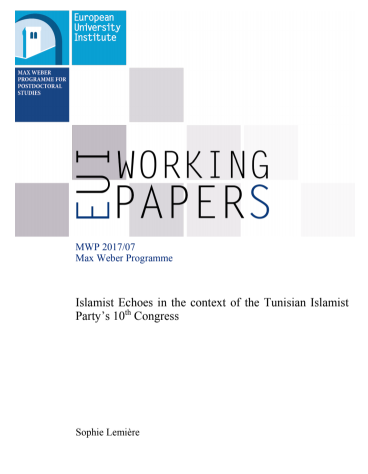 Islamist Echoes in the context of the Tunisian Islamist Party's 10th Congress