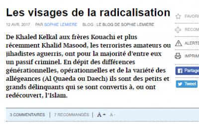Les visages de la radicalisation